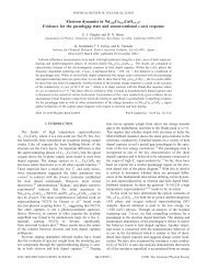 Electron dynamics in Nd1.85Ce0.15CuO4 - Linking to APS Journals ...