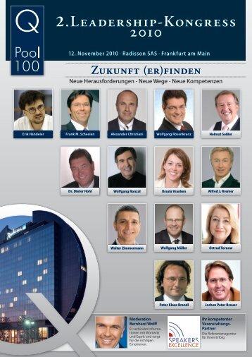 2.Leadership-Kongress 2010 - Wolfgang Ronzal