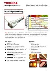 Infrared Halogen Heater Lamp - Prolight