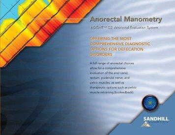Anorectal Manometry - Sandhill Scientific