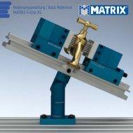 Operating instructions X-Grip XS - Matrix GmbH
