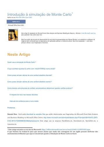 Neste Artigo - Site Prof. Bertolo