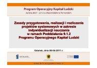 Prezentacja ze spotkania - Strona Departamentu Europejskiego ...