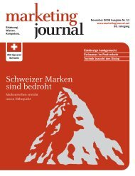Schweizer Marken sind bedroht