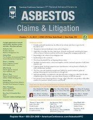 event brochure - Wilson Elser Moskowitz Edelman & Dicker LLP