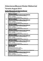 Veranstaltungen Kloster August 2013 als PDF ... - Zorge im Harz