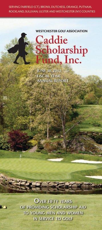2011 Annual Report - Westchestergolf.org