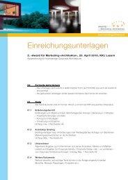 Einzureichende Unterlagen_2010.indd - Award für Marketing + ...