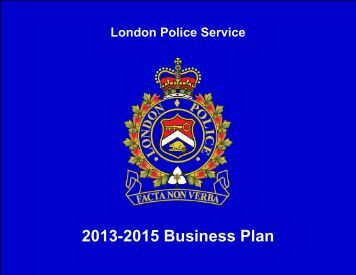 police business plan