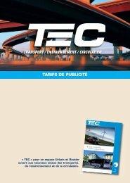 TARIFS DE PUBLICITÉ - Atec/ITS France