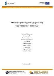 Aktualny i przyszły profil gospodarczy województwa pomorskiego