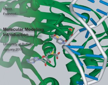 Molecular Modeling Introduction - University at Buffalo
