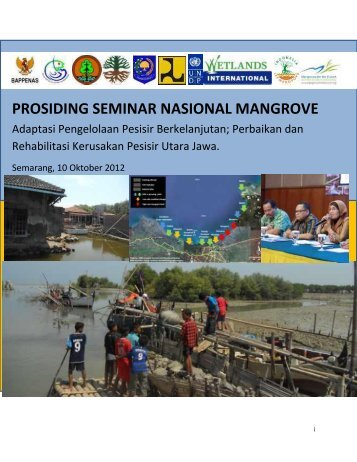 prosiding seminar nasional mangrove - Mangroves for the Future