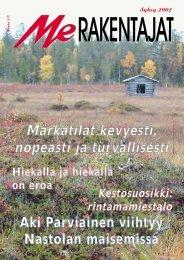 Me Rakentajat 3/02 pdf - Rakentaja.fi
