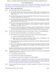 PART III – INVESTIGATION OF ELECTRONIC DATA PROTECTED ...