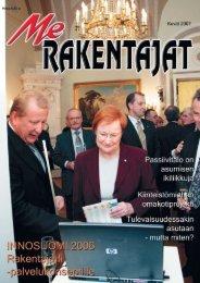 Me Rakentajat 1/07 pdf - Rakentaja.fi