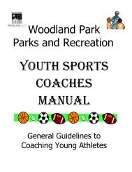 Youth Sports Coaches Manual, General Guidelines to Coaching ...