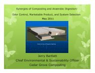 Synergies of Composting and Anaerobic Digestion
