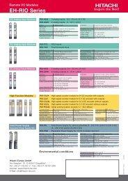 EH-RIO Series - Esco Drives & Automation