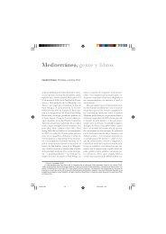 Mediterráneo, gente y libros - IEMed