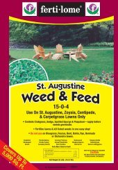 Label 10917 St. Augustine Weed & Feed Proof 6-15-12 - Fertilome