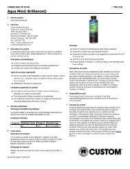 Aqua Mix® Brilliance® - Custom Building Products