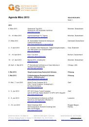 Agenda vom März 2013 - SGBF-SSMSR