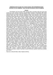 Abstrak penelitian - PKPP