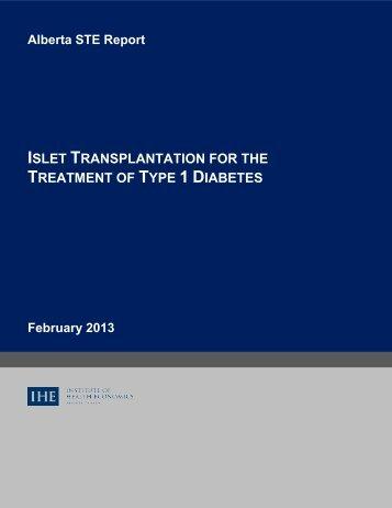 Report Title - Institute of Health Economics