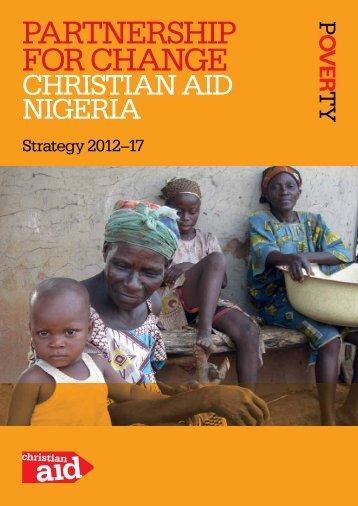 Nigeria strategy, 2012-17 (PDF, 1mb) - Christian Aid
