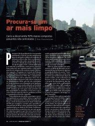 ar mais limpo - Revista Pesquisa FAPESP