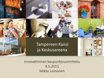 Tampereen kansi ja keskusareena -hanke - Kuntatekniikka.Fi