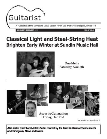 Classical Light and Steel-String Heat - Minnesota Guitar Society