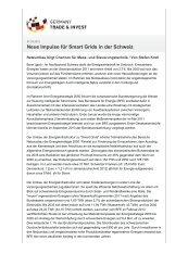 Neue Impulse für Smart Grids in der Schweiz