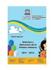 Informe Nacional Atención y Educación de la Primera Infancia 2011