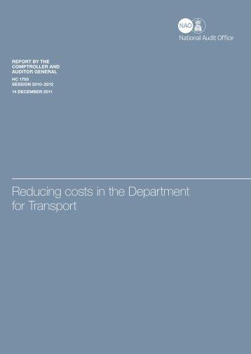 Executive summary (pdf - 87KB) - National Audit Office