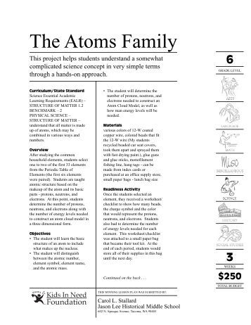 Worksheets Atoms Family Worksheet atoms family worksheet answer key intrepidpath atomic math challenge the science spot