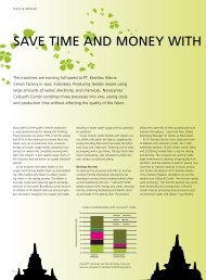SaVE tiME aNd MONEy witH cElluSOft - Improve - Novozymes