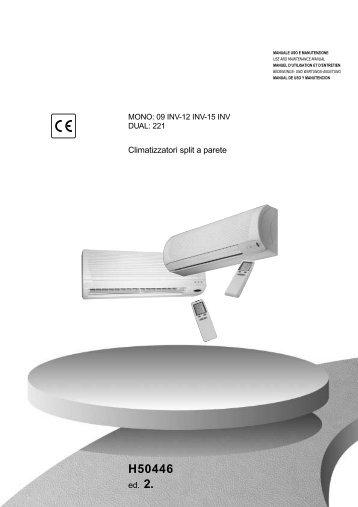 H50446-v02 Manuale Uso e Manut. Artemio New Inverter ... - Rhoss