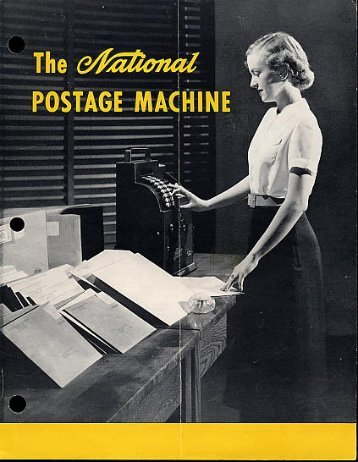 The National Postage Machine. - The Core Memory