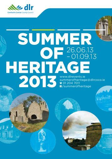 Summer of Heritage 2013 - Dun Laoghaire-Rathdown County Council