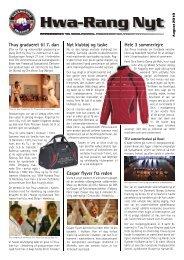 Aug. - Ballerup Taekwondo Klub