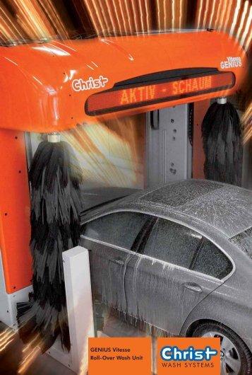 GENIUS Vitesse Roll-Over Wash Unit