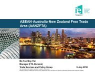 AANZFTA - Singapore Manufacturing Federation