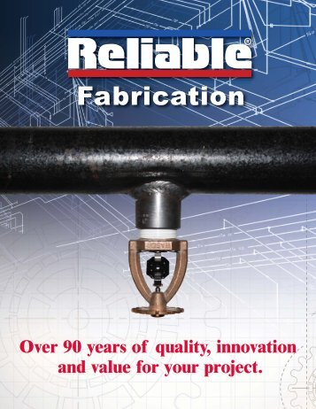 Fabrication - Reliable Automatic Sprinkler Co.