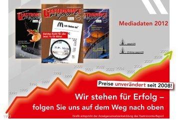 Mediadaten - Gastronomie Report