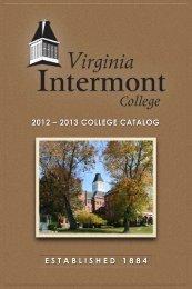 Catalog - Virginia Intermont College