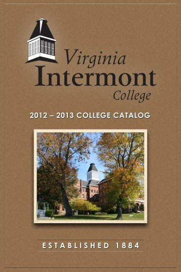 Catalog - Virginia Intermont College