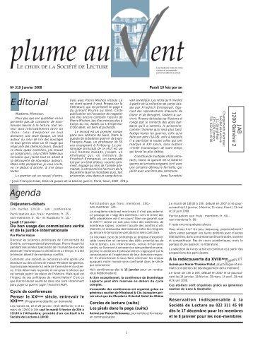 PLV 319 - Societe de Lecture Geneve
