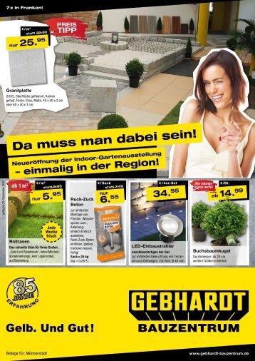 9.95 - Gebhardt Bauzentrum